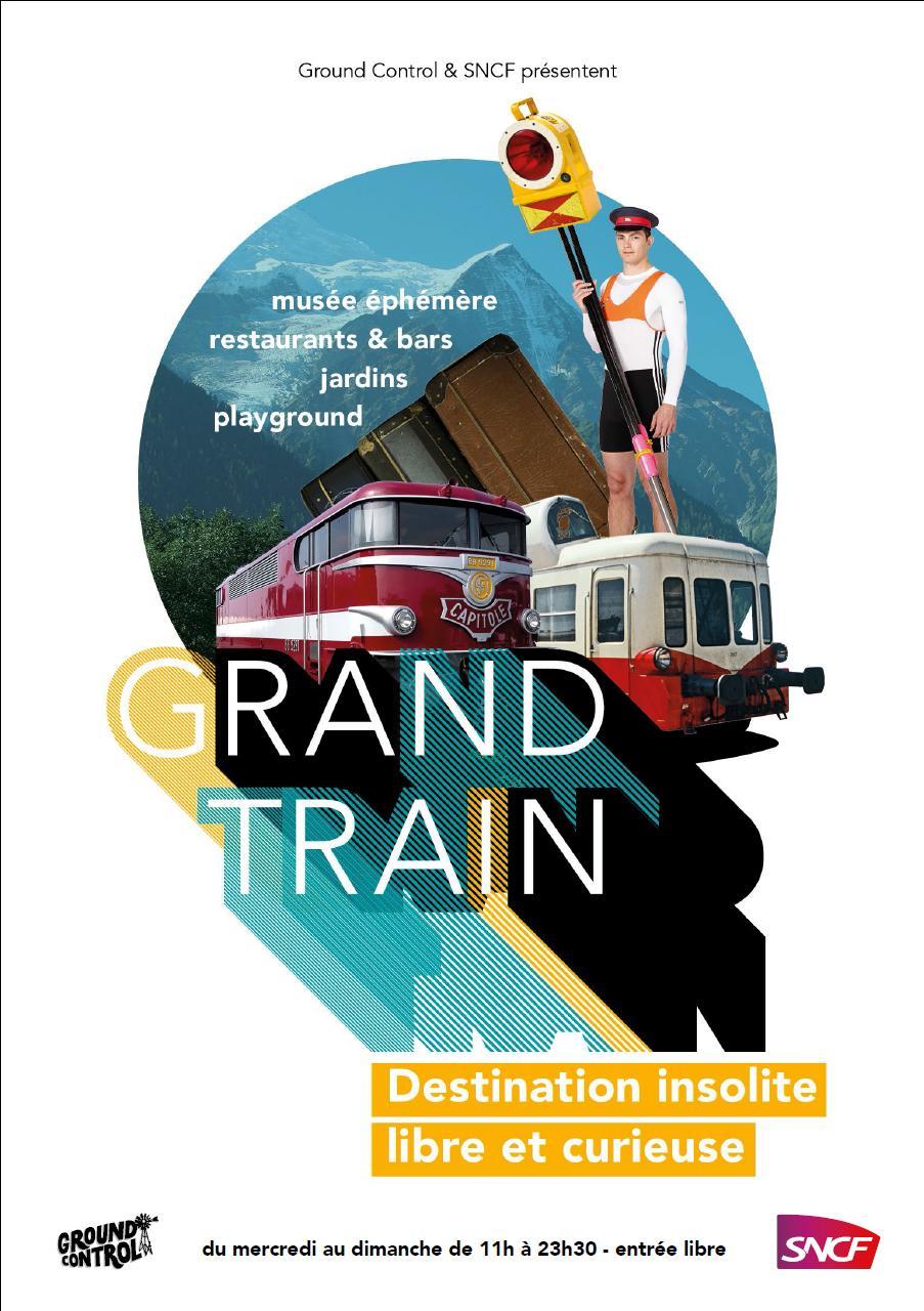 Affiche Expo Grand Train lachapelle