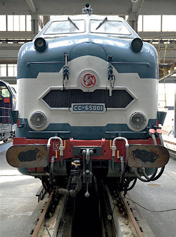 CC 65001, Grand Train La Chapelle