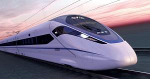 Fig. 3 : train à grande vitesse Zefiro de Bombardier (Bombardier).