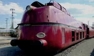 Fig. 1 : locomotive à vapeur BR05 de la Deutsche Reichsbahn, optimisée du point de vue aérodynamique, (dbmuseum.de).