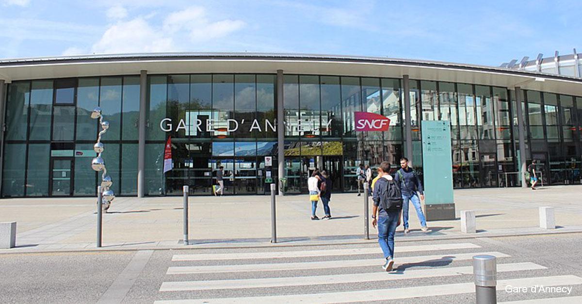 Gare d'Annecy